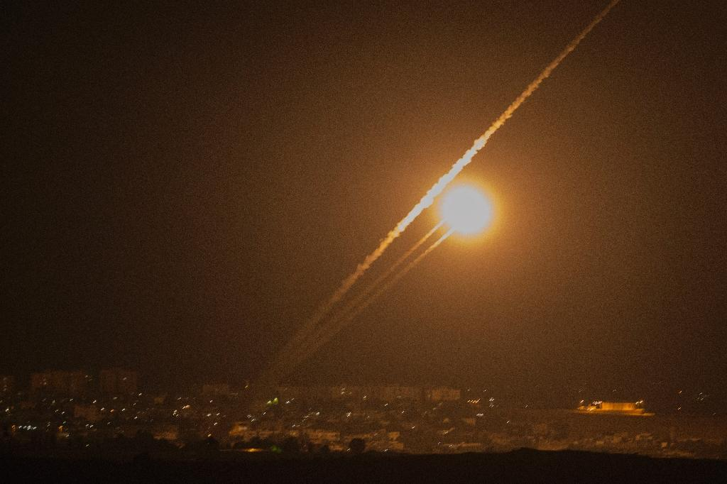Palestinians launch rocket attacks against Israel: police