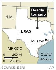 At least 6 confirmed dead in Texas tornadoes