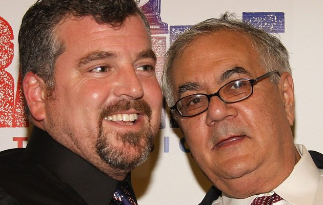 James Ready and Barney Frank attend the Broadway opening of 'Rag Time' at the Neil Simon Theatre on November 15, 2009 in New York City. (Photo by Janette Pellegrini/Getty Images)