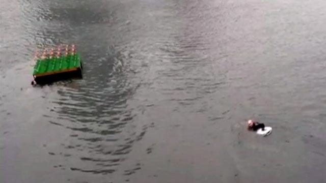 Boston Cop Rescues Drowning Woman