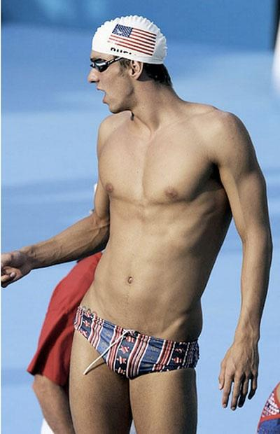 Michael Phelps, ace athlete, legitimate Speedo wearer