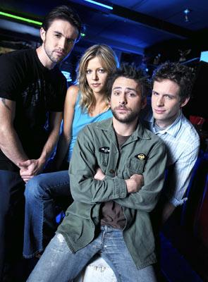 Rob McElhenney, Kaitlin Olson, Charlie Day and Glenn Howerton FX's It's Always Sunny in Philadephia
