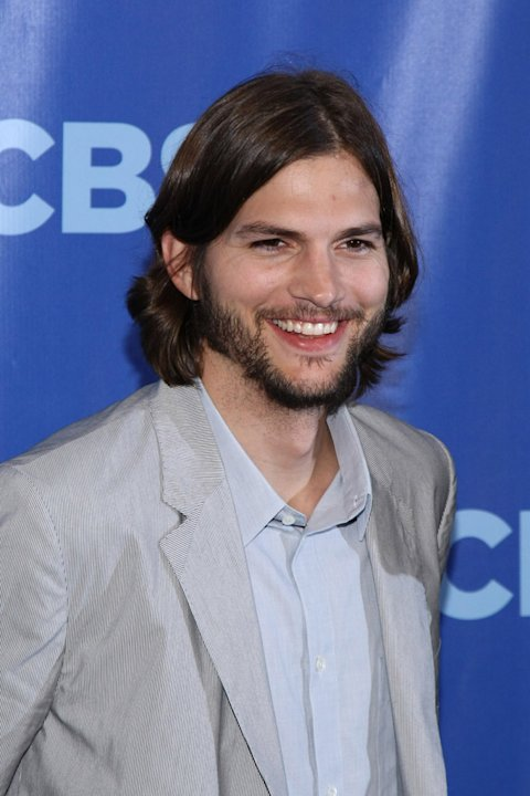 "Ashton Kutcher of ""Two and a Half Men""attends the 2011 CBS Upfront at The Tent at Lincoln Center on May 18, 2011 in New York City."