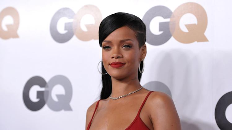 "Rihanna attends the GQ ""Men Of The Year"" party at the Chateau Marmont on Tuesday, Nov. 13, 2012, in Los Angeles.  (Photo by John Shearer/Invision/AP)"