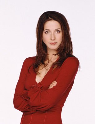 "Marin Hinkle as Judith CBS' ""Two and a Half Men"""