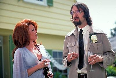 Megan Mullally and Tom Green in Columbia's Stealing Harvard
