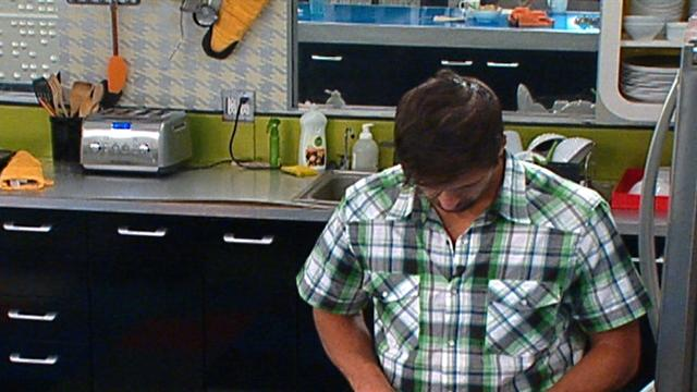 Big Brother - Feed Clip: Shane's Banana Sandwich