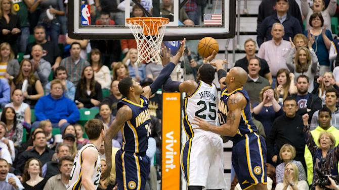 NBA: Indiana Pacers at Utah Jazz