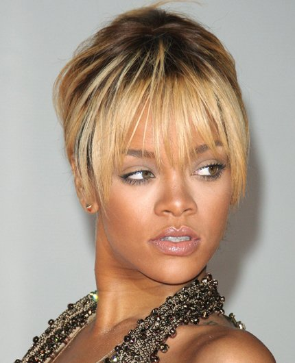 Celebrity hair: We cant keep up with colour chameleon Rihanna who is currently sporting blonde locks, and it looks like her bank balance wont be able to either! RiRi hires the help of stylist Ursula