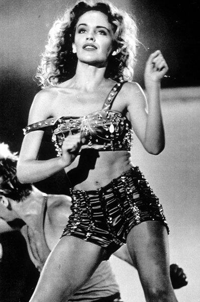 Kylie performing in Tokyo, 1985
