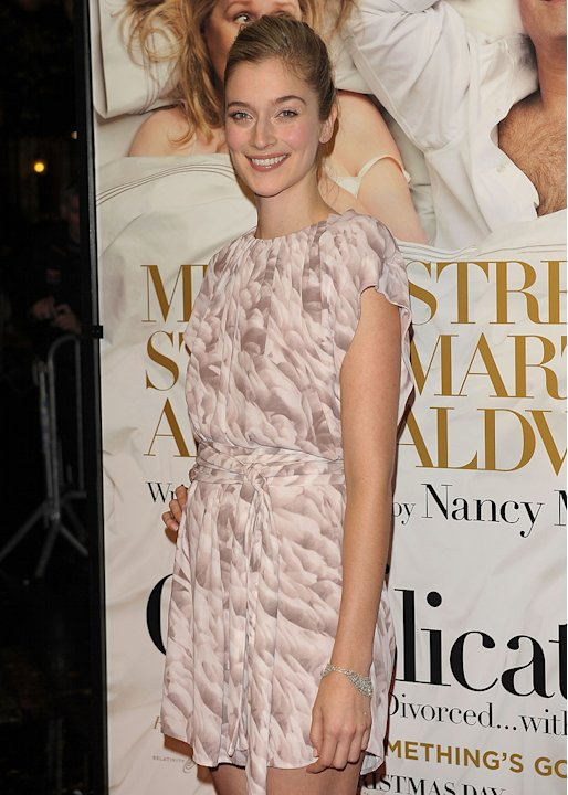 It's Complicated NY Premiere 2009 Caitlin Fitzgerald