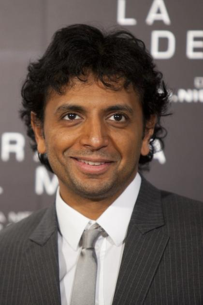 Director M. Night Shyamalan attends 'La Trampa del Mal' Photocall at Santo Mauro Hotel, Madrid, Spain, on January 27, 2011 -- Getty Images