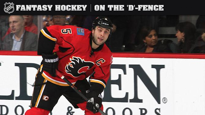 On the D-Fence: Giordano heats up for Flames