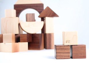 Organic Wooden Block Set