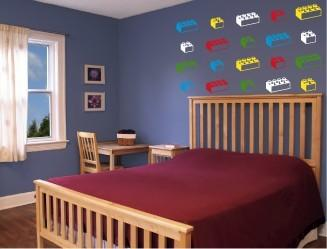 LEGO Block Wall Decals