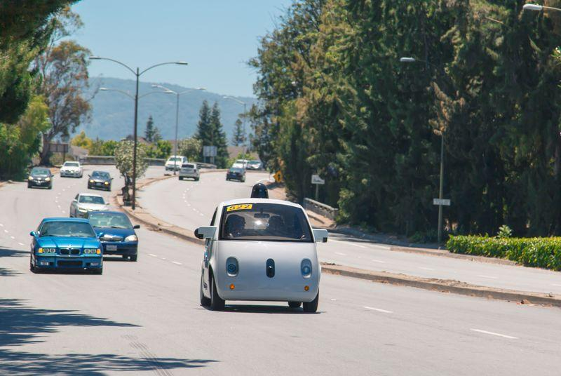 Google's self-driving car didn't hit a duck-chasing granny