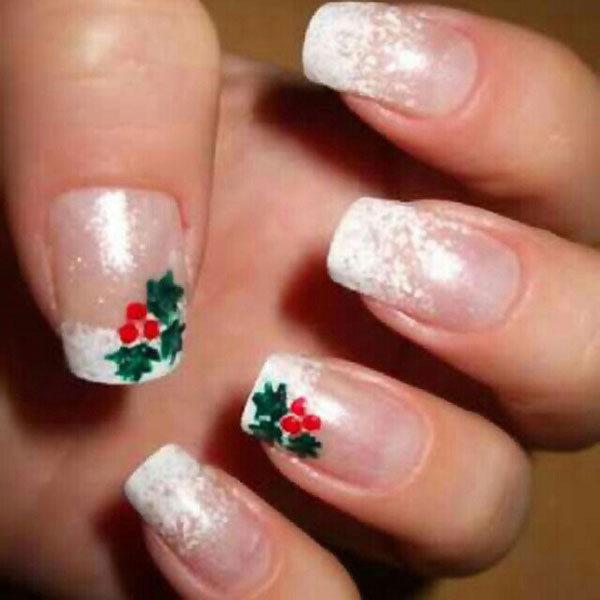 Best Christmas nail art © pinterest | Best Christmas nail art - Yahoo