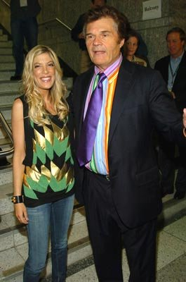 Tori Spelling and Fred Willard Tribeca Film Festival, May 5, 2004