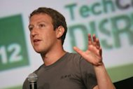 <p>Facebook founder and CEO Mark Zuckerberg speaks at the TechCrunch Disrupt SF 2012 conference on September 11, in San Francisco. Facebook said it has shaken up its engineering teams to make targeting smartphones a top priority at the world's leading social network.</p>