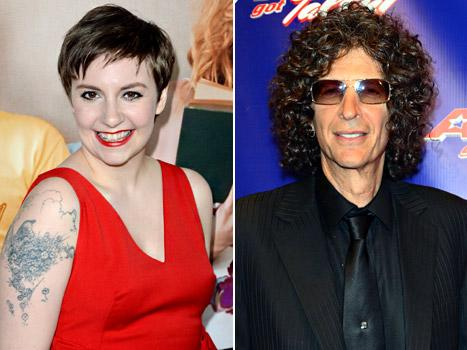 "Lena Dunham Calls Into Howard Stern's Radio Show: ""I'm Not That Fat, Howard"""