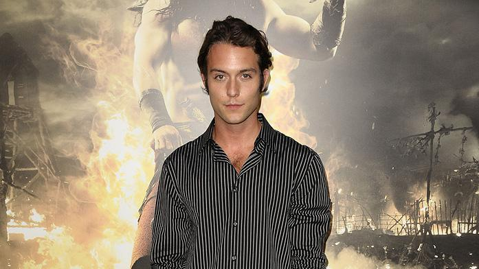 Conan the Barbarian 2011 LA Premiere Chase Ryan Jeffrey