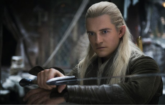 Orlando Bloom swings back onto cinema screens for The Hobbit: The Desolation of Smaug (Photo courtesy of Warner Bros)