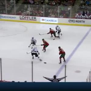 Drew Doughty Hit on Jason Zucker (00:28/3rd)