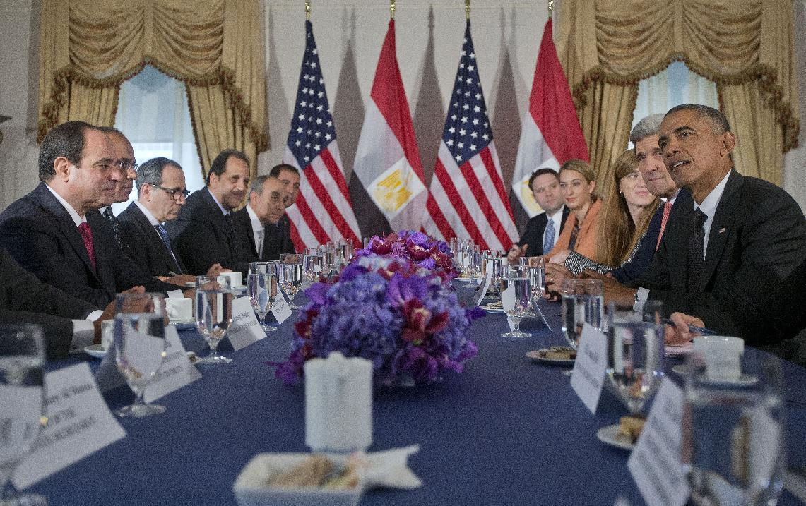 Egypt president welcomes release of withheld US military aid