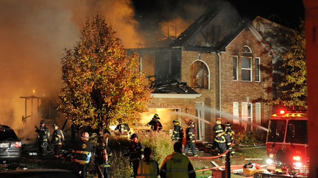 Indy Home Blast Now Homicide Probe (ABC News)
