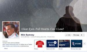 The rallying cry used by the Dillon Panthers inFriday Night Lightshas been co-opted in photos on Mitt Romney's Facebook page.