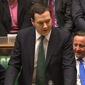 UK's Osborne vindictaed by growth