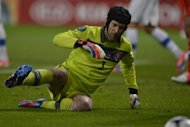 Czech Republic goalkeeper Petr Cech during the Euro 2012 match against Russia on June 8. Cech tried to take the positives out of the 4-1 hammering his side received at the hands of Russia in their Euro 2012 opener by saying he took heart from what happened at the 2006 World Cup