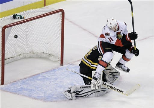 Lehner makes 32 saves in Ottawa's 1-0 win