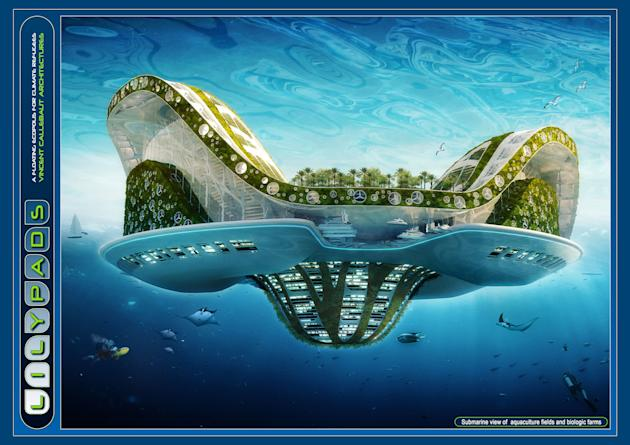 Lilypad: The eco-friendly floating city