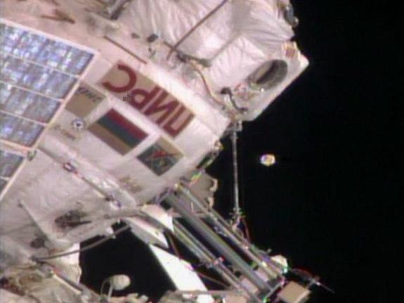 Astronaut Sees 'UFO' Near Space Station (Video)