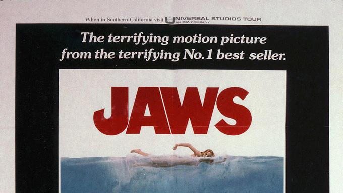 Jaws Universal Pictures Production Photos 1975 Poster