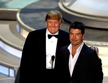 Donald Trump and Simon Cowell Presenters for Outstanding Supporting Actress in a Comedy Series Emmy Awards - 9/19/2004 Donald Trump