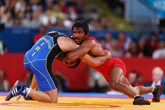 Olympics Day 15 - Wrestling
