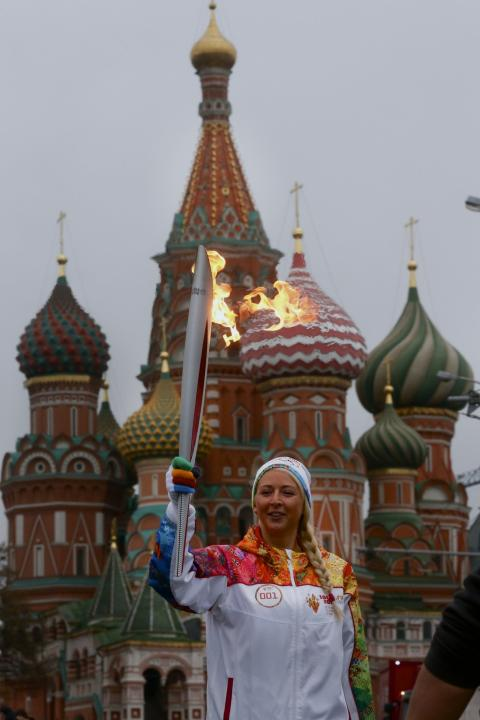 Russia Sochi Torch Relay