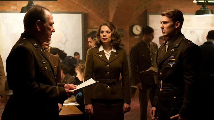 Captain America the First Avenger Stills Paramount Pictures 2011 Tommy Lee Jones Hayley Atwell Chris Evans