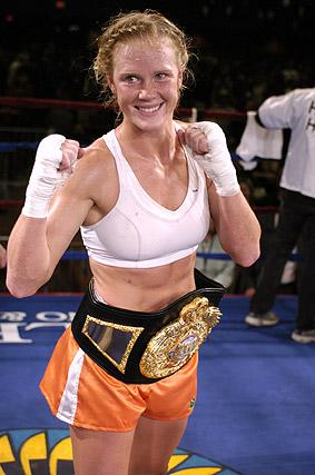 World Champion Boxer Holly Holm Giving Up Pugilistic Pursuits for MMA Career