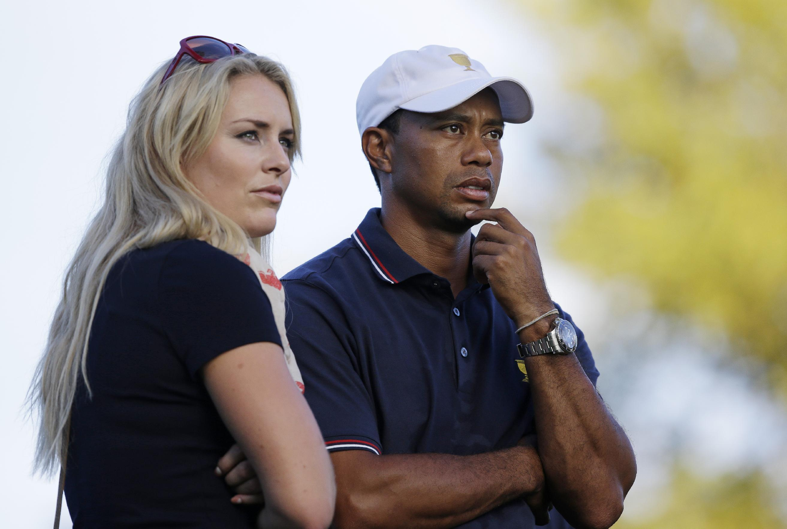 Vonn says relationship with Woods is over