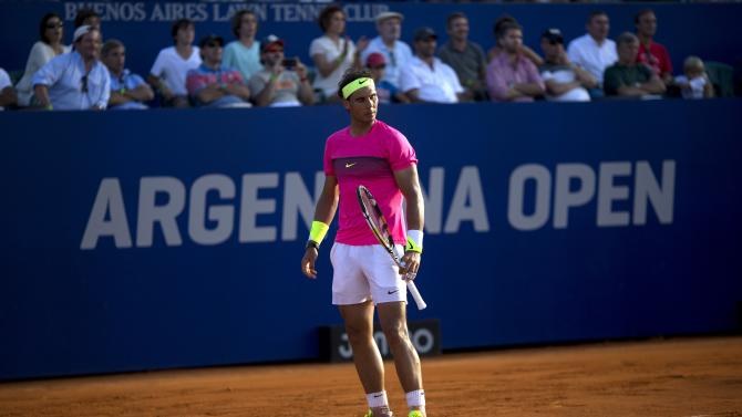 Nadal to play Monaco in final of Argentina Open
