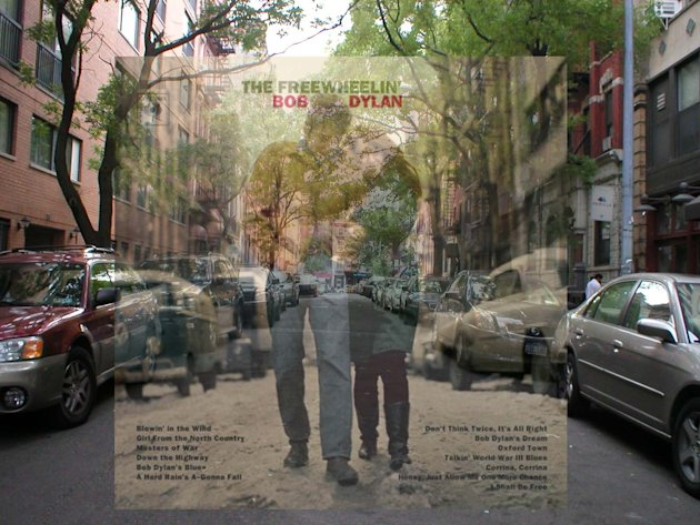 Classic Album Covers Revealed in NYC