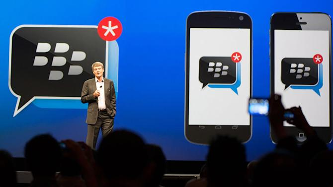 BlackBerry unveils the next crucial step in BBM's evolution