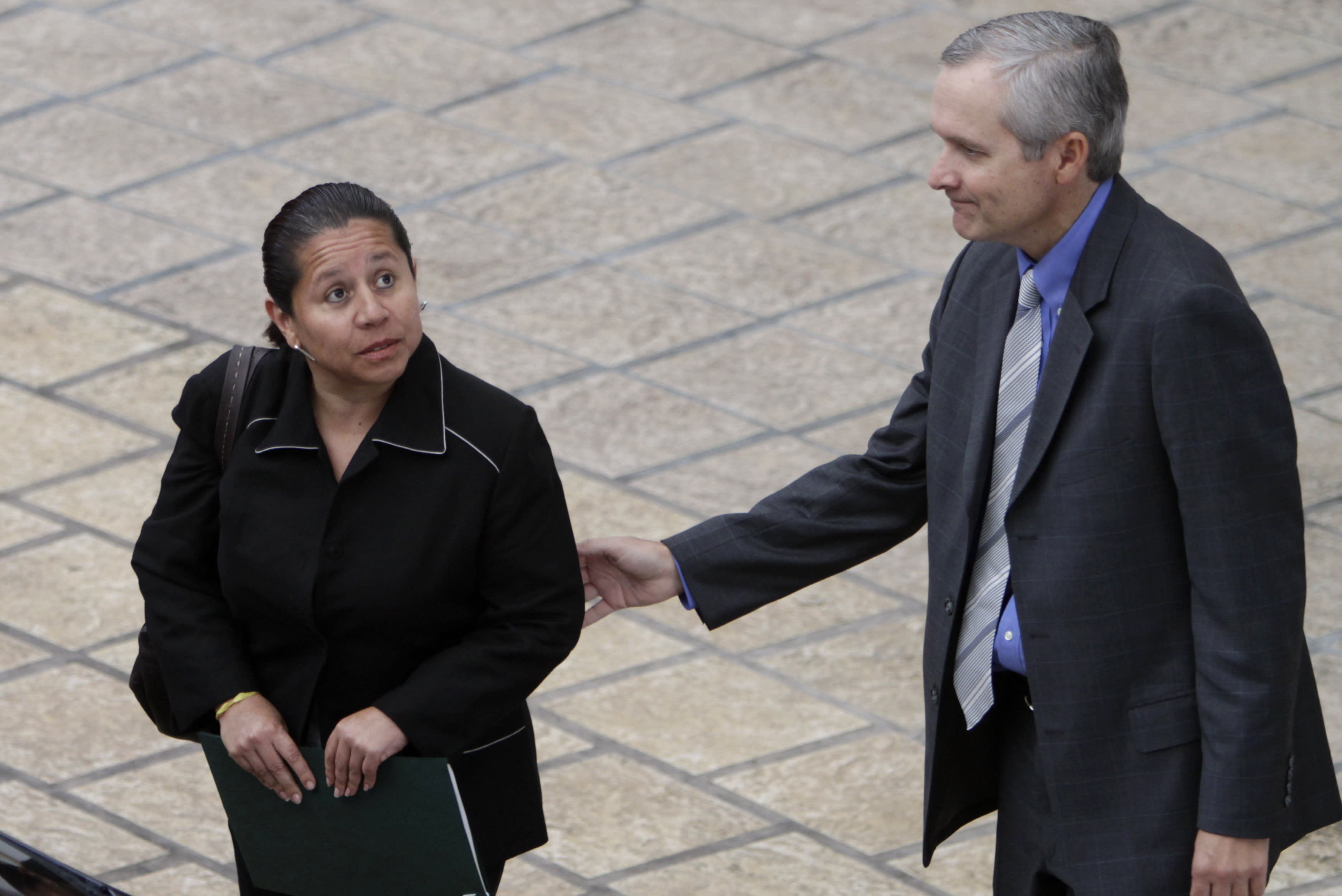 Ex-spy chief wanted in Colombia for wiretaps surrenders