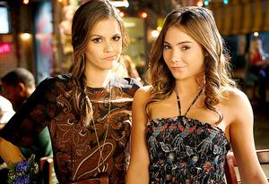 Rachel Bilson and Mckayla Maroney | Photo Credits: Greg Gayne/The CW