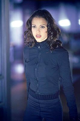 Jessica Alba as Max, a genetically-enhanced human prototype, in Fox's Dark Angel Dark Angel