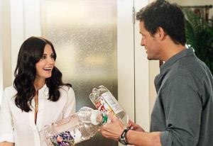 Courteney Cox and Josh Hopkins | Photo Credits: Michael Ansell/ABC