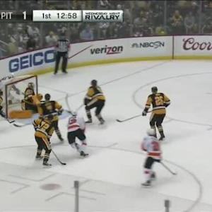 Marc-Andre Fleury Save on Michael Del Zotto (07:04/1st)
